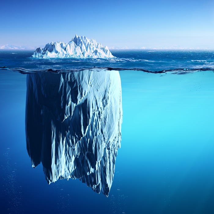 iceberg global warming
